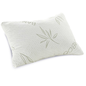 Classic Brands Shredded Memory Foam Pillow with Bamboo Rayon Cover