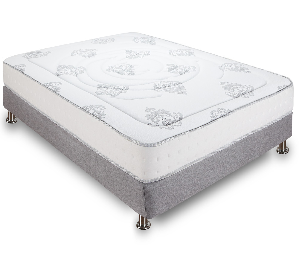 Decker 10 5 Inch Hybrid Memory Foam Mattress Classic Brands