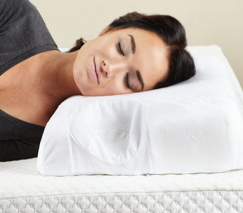Contour Memory Foam Pillow for CPAP machines