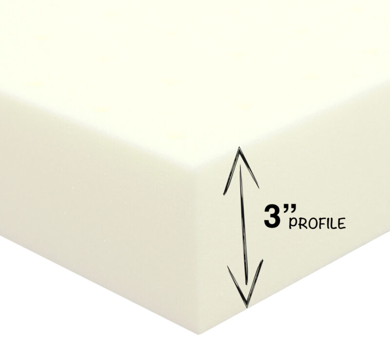 3-Inch Memory Foam Mattress Topper