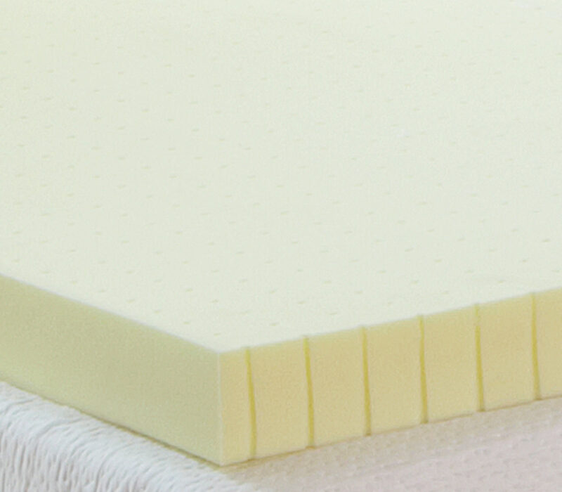 3Inch Ventilated Memory Foam Mattress Topper Classic Brands