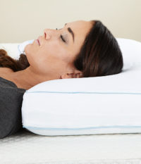 Cool Sleep Gel Memory Foam Pillow