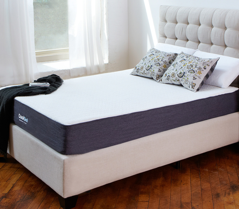 10-inch cool gel mattress