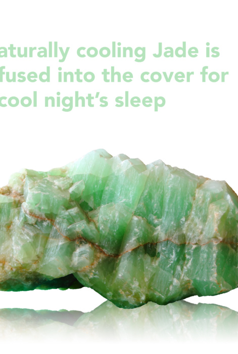 Cool Gel Jade Latex and Memory Foam Mattress