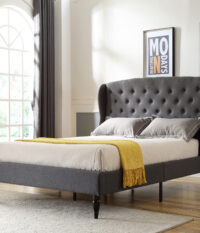 Classic Brands, Coventry, Upholstered Headboard, Headboard, Platform Bed, Bed Frame, Upholstered Bed Frame, Headboard For Bed, Platform Frame For Bed, Queen, King, Full, Queen Size, Full Size, King Size