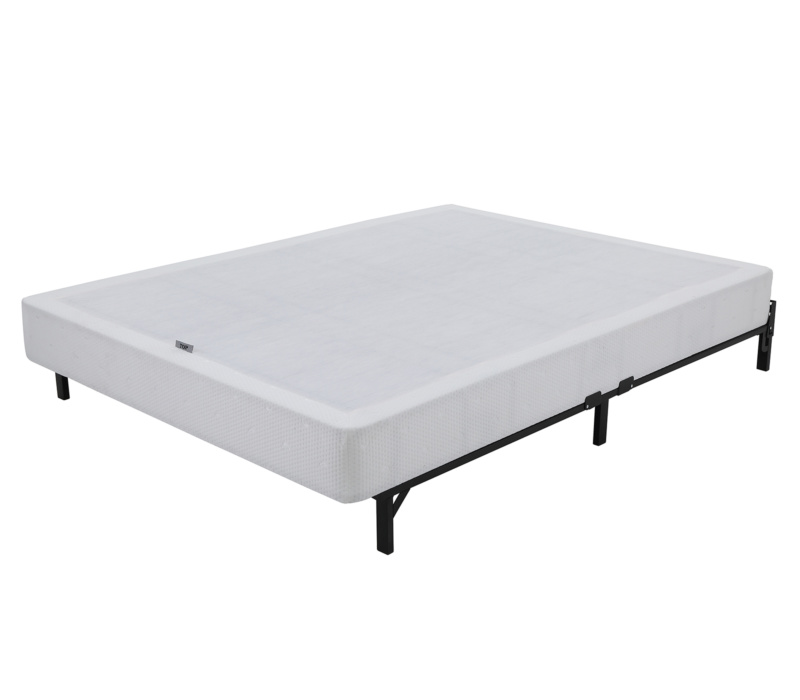 Instant folding 7 5 inch high profile mattress foundation for High mattress box spring
